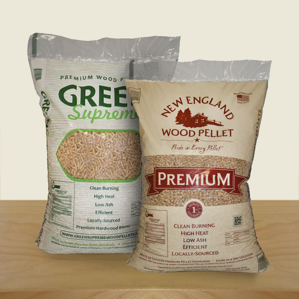 Radar Marketing Group - NH Package Design - New England Wood Pellet