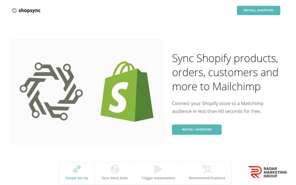 ShopSync Website