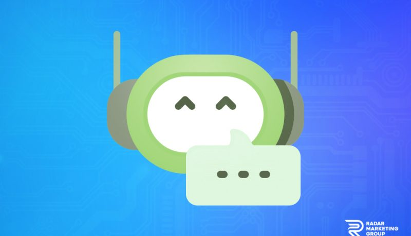 Chat Bot Illustration
