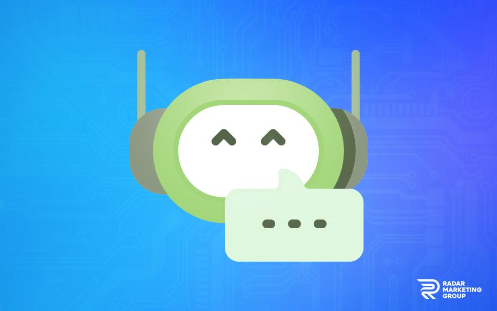 Chat Bot Illustration