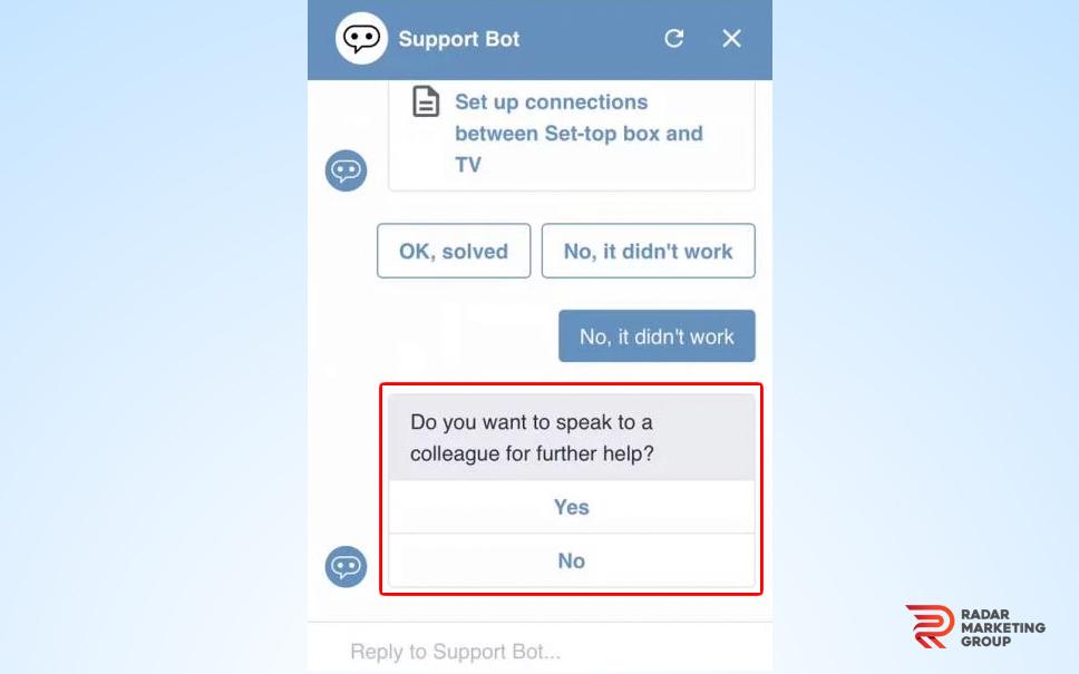 Live Chat Handoff
